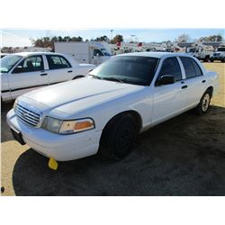 2006 FORD CROWN VICTORIA VIN/SN:2FAFP73V76X130752 - V8 GAS ENGINE, A/T (COUNTY OWNED)