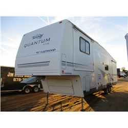 2005 FLEETWOOD TERRY QUANTUM AXLE TRAVEL TRAILER, VIN/SN:1EA5F362354007137 - T/A, 4 SLIDE OUTS, 36'