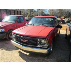 1999 GMC 1500 SL PICKUP, VIN/SN:1GTFC24R1WZ533369 - GAS ENGINE, A/T (DOES NOT OPERATE) (COUNTY OWNED