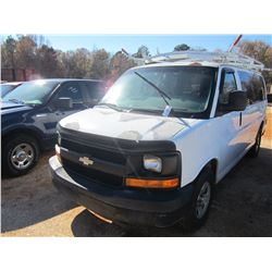 2007 CHEVROLET PASSENGER VAN, VIN/SN:1GNFG15Z171176831 - GAS ENGINE, A/T (DOES NOT OPERATE) (COUNTY