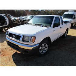 1988 NISSAN FRONTIER PICKUP, VIN/SN:1N6DD26S2WC370543 - 4 CYL , AUTO (DOES NOT OPERATE)