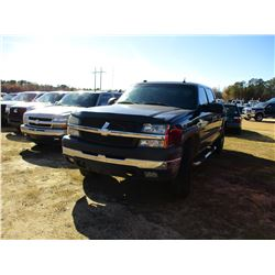 2001 GMC 2500 PICK UP, VIN/SN:2GTEC19T5113555896 - 4X4, CREW CAB, GAS ENGINE, A/T, ODOMETER READING