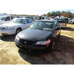 1999 HONDA ACCORD VIN/SN:1HGCG5548XA101519 - GAS ENGINE, A/T, ODOMETER READING 272,853 MILES