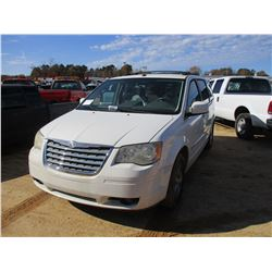2009 CHRYSLER TOWN & COUNTRY MINI VAN, VIN/SN:2A8HR54159R525849 - V6 GAS, A/T, ODOMETER READING 139,