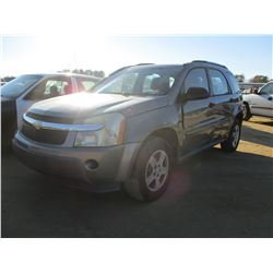 2006 CHEVROLET EQUINOX, VIN/SN:2CND113FS66021906 - GAS ENGINE, A/T