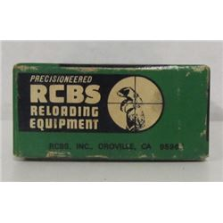 SET OF 222REM RELOADING DIES AND BRASS