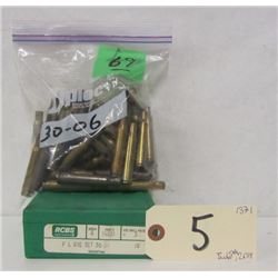 30-06 RELOADING DIES AND BRASS