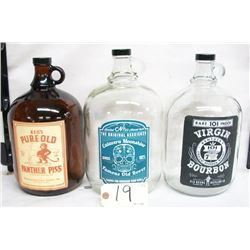 MOONSHINE JUGS