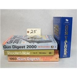 BOOK LOT GUNS