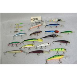 BOX LOT FISHING LURES