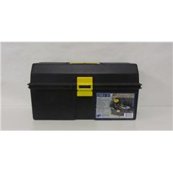 TACKLE BOX WITH MISC. TACKLE AND SUPPLIES