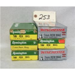 7MM REMINGTON MAGNUM LOT