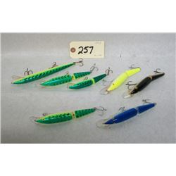 LOT OF RAPALA FISHING LURES