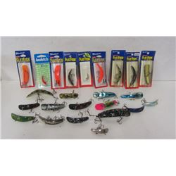 BOX LOT OF FLAT FISH LURES