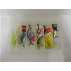 SMALL LOT OF FISHING LURES