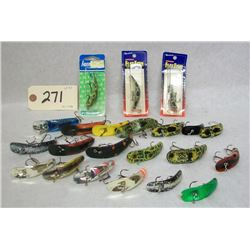 FLATFISH FISHING LURE LOT