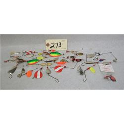 ASSORTED FISHING LURE LOT