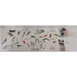 LOT OF MISC FISHING LURES