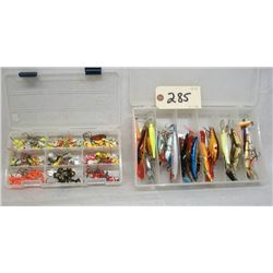 TACKLE LOT OF LURES AND JIGS