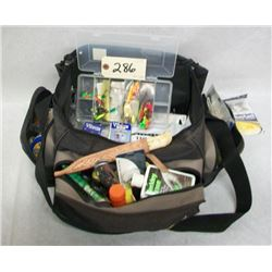 FISHING TACKLE BAG FULL