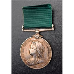 Colonial Auxiliary Forces Long Service Medal - Private