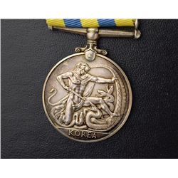 Canadian Korea War Medal - French soldier