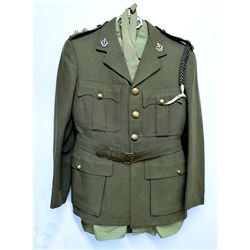 Lot of Canadian Military uniforms and regalia