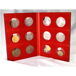 Collection Leo Meloche, Album with 12 miscellanious Medals #1