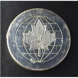Commemorative medal of the Opening of the Montreal Stock Exchange, 1965