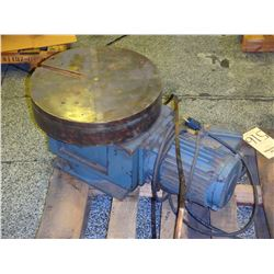 "16"" Magnetic Chuck Rotary Table, S/N- HC-16-37183"