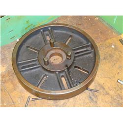 "17"" Diameter Lathe Face Plate, with D1-6 Mount?"