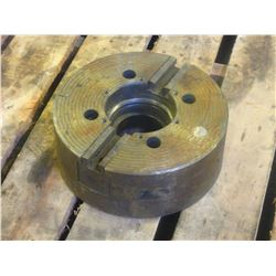 "Gamet 12"" 2 Jaw Power Chuck, No info on unit"