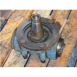 NMTB50 to NMTB40 Right Angle Spindle Assembly