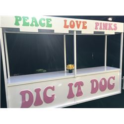 Pink's Hot Dog Cart From Al Cowling's 70th Birthday