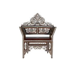 Moroccan Inlaid Chair