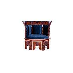 Moroccan Tangiers Queen Chair