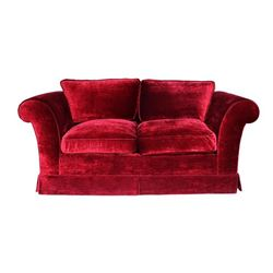 Burgundy Love Seat from Jesse Tyler Birthday