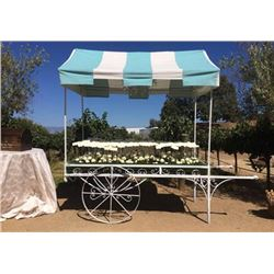 Montecito Flower Cart