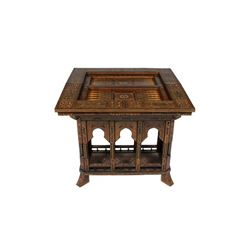 Moroccan Syrian Game Table Large