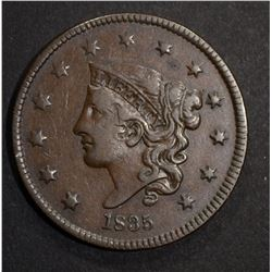 1835 LARGE CENT  XF+