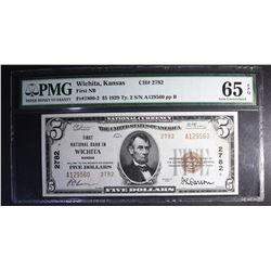 1929 TY.2 $5 NATIONAL CURRENCY PMG 65 EPQ
