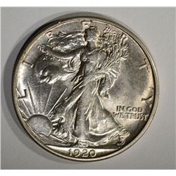 1920-S WALKING LIBERTY HALF DOLLAR  CH BU