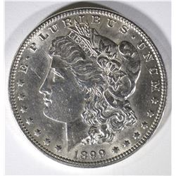 1899 MORGAN DOLLAR  AU/BU