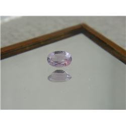 GEMSTONE - AMETHYST - OVAL FACETED - 6.1 X 4.0 X 3.0mm