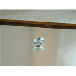 GEMSTONE - BABY BLUE TOPAZ - OVAL FACETED - 5.9 X 4.0 X 3.0mm