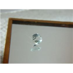 GEMSTONE - BABY BLUE TOPAZ - ROUND FACETED - 4.9 X 3.3mm