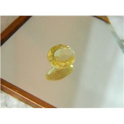 GEMSTONE - CITRINE - OVAL FACETED - 10.8 X 8.0 X 4.1mm