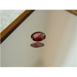 GEMSTONE - GARNET - OVAL FACETED - 6.0 X 4.1 X 2.2mm