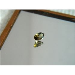 GEMSTONE - SMOKIE TOPAZ - OVAL FACETED - 5.0 X 3.2 X 2.6mm