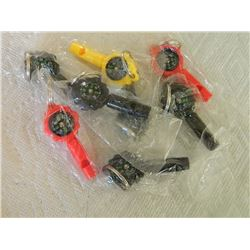 NEW WHISTLES WITH COMPASS - 8 TTL
